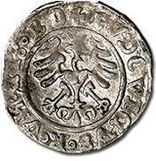 ½ gros - Louis II Jagellon (1516-1526) – revers