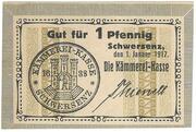 1 Pfennig (Schwersenz) – avers