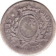 10 schilling / ¼ gulden – avers
