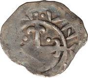 1 penny David I – revers