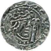 1 penny Prince Henry (Période D, type III) – avers
