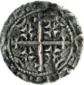 1 penny Prince Henry (Période D, type III) – revers