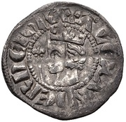 ½ Penny - Alexander III (2nd monnayage) – avers
