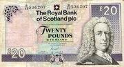 20 Pounds - Scotland Ilay series 2007 – avers