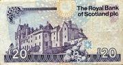 20 Pounds - Scotland Ilay series 2007 – revers
