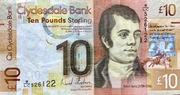 10 Pounds Clydesdale Bank World Heritage – avers