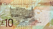 10 Pounds Clydesdale Bank World Heritage – revers