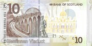 10 Pounds (Bank of Scotland) – revers