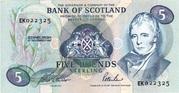 £5 Bank of Scotland – avers
