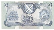 £5 Bank of Scotland – revers