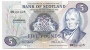 £5 Pound Bank of Scotland – avers