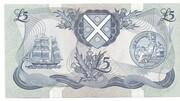 £5 Pound Bank of Scotland – revers