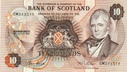 £10 Bank ofScotland – avers