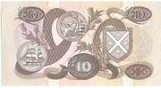 £10 Bank of Scotland – revers