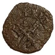 1 Farthing - James III (Type II) – revers