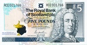 2014 Ryder Cup Five Pound Note – avers