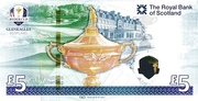 2014 Ryder Cup Five Pound Note – revers