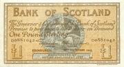 1 Pound (Bank of Scotland) – avers