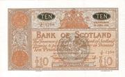10 Pounds (Bank of Scotland) – avers