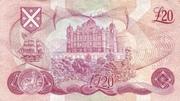 20 Pounds (Bank of Scotland) – revers