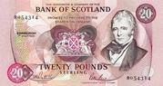 20 Pounds (Bank of Scotland) – avers