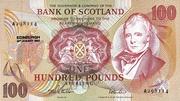 100 Pounds (Bank of Scotland) – avers