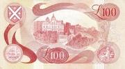 100 Pounds (Bank of Scotland) – revers