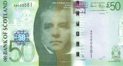 50 Pounds (Bank of Scotland) – avers