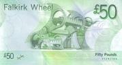 50 Pounds (Bank of Scotland) – revers
