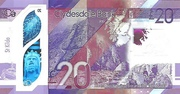 20 pounds (Clydesdale Bank) – revers