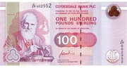 100 Pounds (Clydesdale Bank) – avers