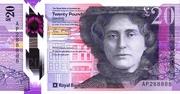 20 pounds ( Royal Bank of Scotland) – avers