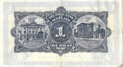 1 Pound (Royal Bank of Scotland) – revers