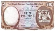10 Pounds (Royal Bank of Scotland) – avers