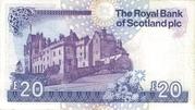 20 Pounds (Royal Bank of Scotland) – revers