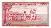 100 Pounds (Royal Bank of Scotland) – revers