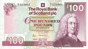 100 Pounds (Royal Bank of Scotland) – avers