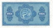 5 Pounds (British Linen Bank) – revers