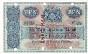10 Pounds (British Linen Bank) – avers