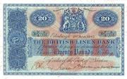 20 Pounds (British Linen Bank) – avers