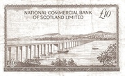 10 Pounds (National Commercial Bank of Scotland) – revers