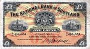 1 Pound (National Bank of Scotland) – avers