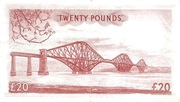 20 Pounds (National Bank of Scotland) – revers