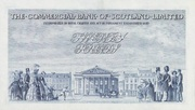 20 Pounds (Commercial Bank of Scotland) – revers