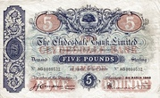 5 Pounds (Clydesdale Bank) – avers