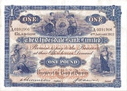 1 Pound (Clydesdale Bank) – avers