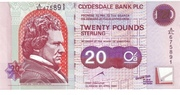20 Pounds Sterling – avers