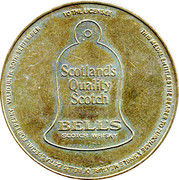 Bell's Scotch Whisky Token – revers
