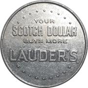 Jeton publicitaire - Lauder's Scotch – revers