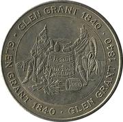 Jeton - Whisky Glen Grant – avers